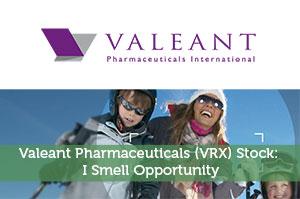 Valeant Pharmaceuticals (VRX) Stock: I Smell Opportunity
