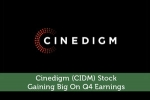 Cinedigm (CIDM) Stock: Gaining Big On Q4 Earnings