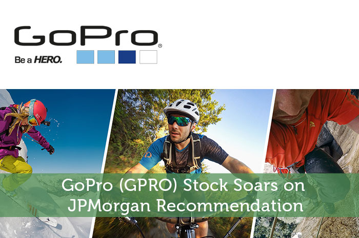 GoPro (GPRO) Stock Soars on JPMorgan Recommendation