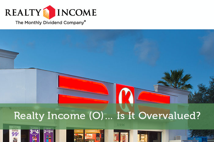 Realty Income (O)… Is It Overvalued?