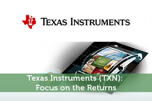 XJohnson-by-Texas Instruments (TXN): Focus on the Returns