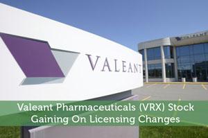 Valeant Pharmaceuticals (VRX) Stock: Gaining On Licensing Changes