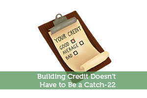 Adam-by-Building Credit Doesn't Have to Be a Catch-22