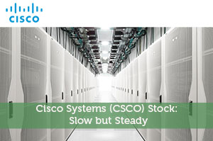 Cisco Systems (CSCO) Stock: Slow but Steady
