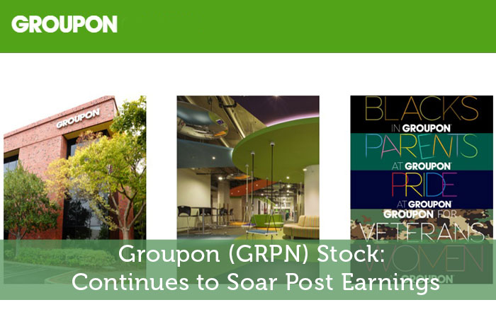 Groupon (GRPN) Stock: Continues to Soar Post Earnings