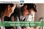 ITT Educational Services (ESI) Stock Falls Apart on DOE News
