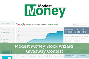 Modest Money Stock Wizard Giveaway Contest
