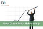 Stock Jumps 88% – Maintain Buy