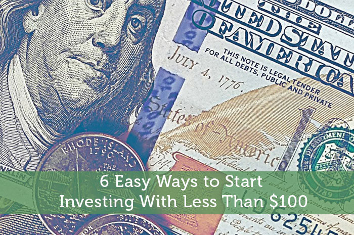 6 Easy Ways to Start Investing With Less Than $100