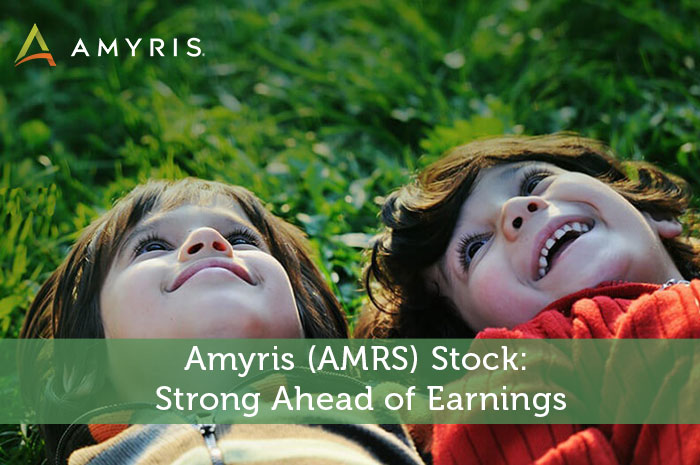 Amyris (AMRS) Stock: Strong Ahead of Earnings