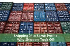 Shipping Into Some Profits: Why Shippers Took Off