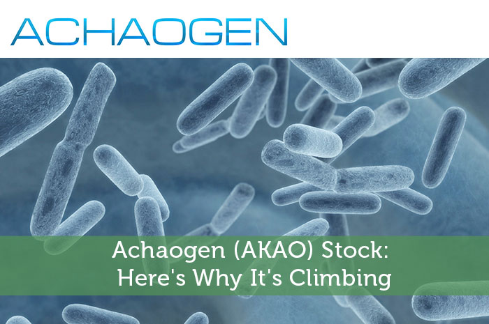 Achaogen (AKAO) Stock: Here's Why It's Climbing