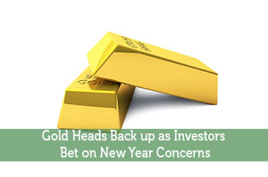 Josh Rodriguez-by-Gold Heads Back up as Investors Bet on New Year Concerns