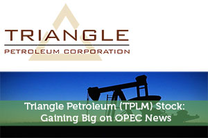 Triangle Petroleum (TPLM) Stock: Gaining Big on OPEC News