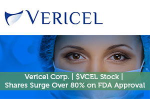 Vericel Corp. | $VCEL Stock | Shares Surge Over 80% on FDA Approval