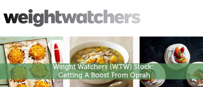 Weight Watchers (WTW) Stock: Getting A Boost From Oprah