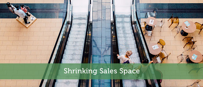 Shrinking Sales Space