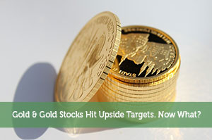 Jeremy Biberdorf-by-Gold & Gold Stocks Hit Upside Targets. Now What?