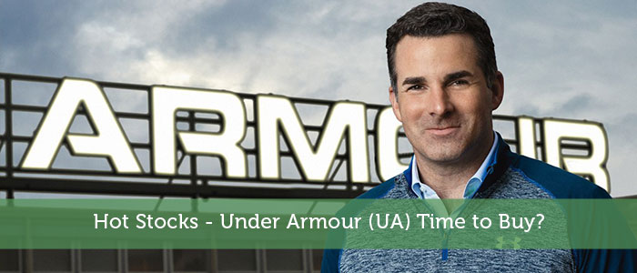 Hot Stocks – Under Armour (UA) Time to Buy?