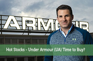 Hot Stocks - Under Armour (UA) Time to Buy?