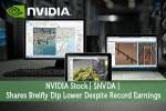 NVIDIA Stock | $NVDA | Shares Breifly Dip Lower Despite Record Earnings
