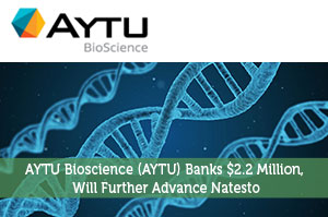 AYTU Bioscience (AYTU) Banks $2.2 Million, Will Further Advance Natesto