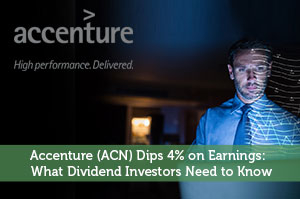 Accenture (ACN) Dips 4% on Earnings: What Dividend Investors Need to Know