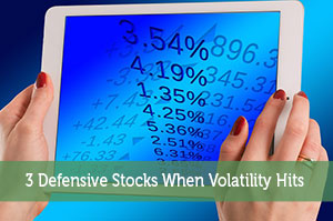 3 Defensive Stocks When Volatility Hits