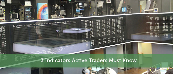 3 Indicators Active Traders Must Know