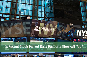 Chris Vermeulen-by-Is Recent Stock Market Rally Real or a Blow-off Top?