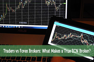 Traders vs Forex Brokers: What Makes a True ECN Broker?