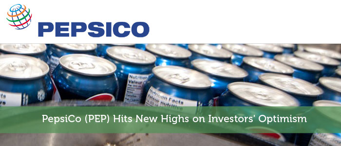 modestmoney.com - Kevin - PepsiCo (PEP) Hits New Highs on Investors' Optimism