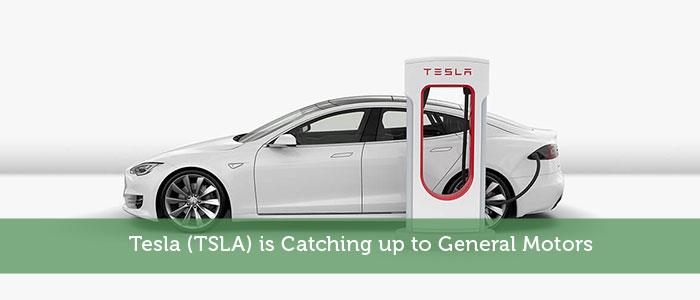 Tesla (TSLA) is Catching up to General Motors
