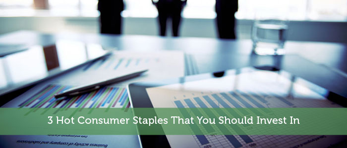 3 Hot Consumer Staples That You Should Invest In