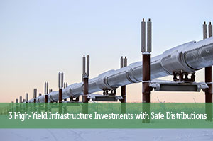 3 High-Yield Infrastructure Investments with Safe Distributions