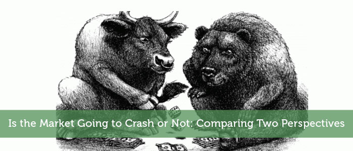 Is the Market Going to Crash or Not: Comparing Two Perspectives