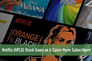 Netflix (NFLX) Stock Soars as it Gains More Subscribers