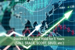 Stocks to Buy and Hold for 5 Years ($JNJ, $RACE, $COST, $BUD, etc.)