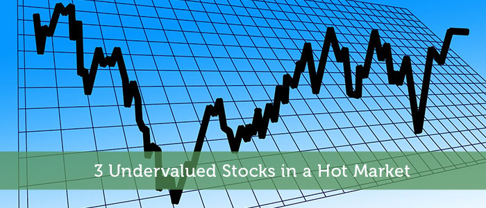 3 Undervalued Stocks in a Hot Market