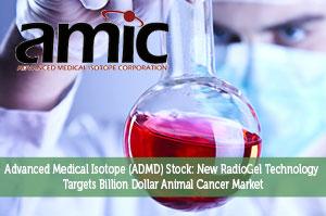 Advanced Medical Isotope (ADMD) Stock: New RadioGel Technology Targets Billion Dollar Animal Cancer Market