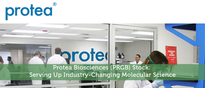 Protea Biosciences (PRGB) Stock: Serving Up Industry-Changing Molecular Science
