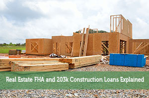 John Delia-by-Real Estate FHA and 203k Construction Loans Explained