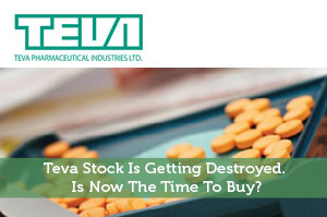 Teva Stock Is Getting Destroyed. Is Now The Time To Buy?