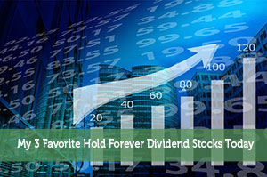 My 3 Favorite Hold Forever Dividend Stocks Today