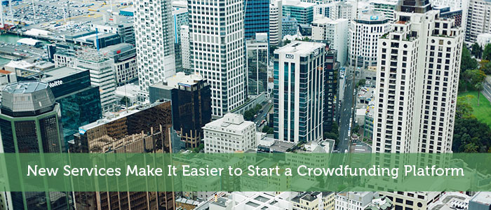 New Services Make It Easier to Start a Crowdfunding Platform