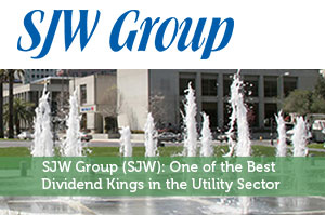 SJW Group (SJW): One of the Best Dividend Kings in the Utility Sector