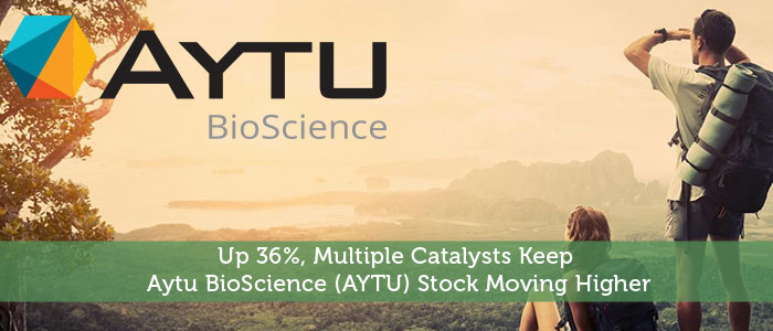Up 36%, Multiple Catalysts Keep Aytu BioScience (AYTU) Stock Moving Higher