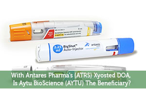 With Antares Pharma's (ATRS) Xyosted DOA, Is Aytu BioScience (AYTU) The Beneficiary?