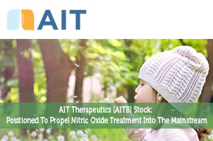AIT Therapeutics (AITB) Stock: Positioned To Propel Nitric Oxide Treatment Into The Mainstream