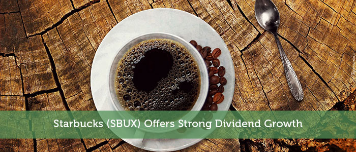 Starbucks (SBUX) Offers Strong Dividend Growth
